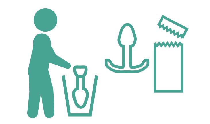 衛生的な使い捨て・開封後は直ぐにご使用下さい。